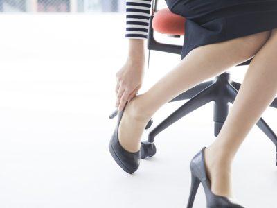 Women who wear high heels