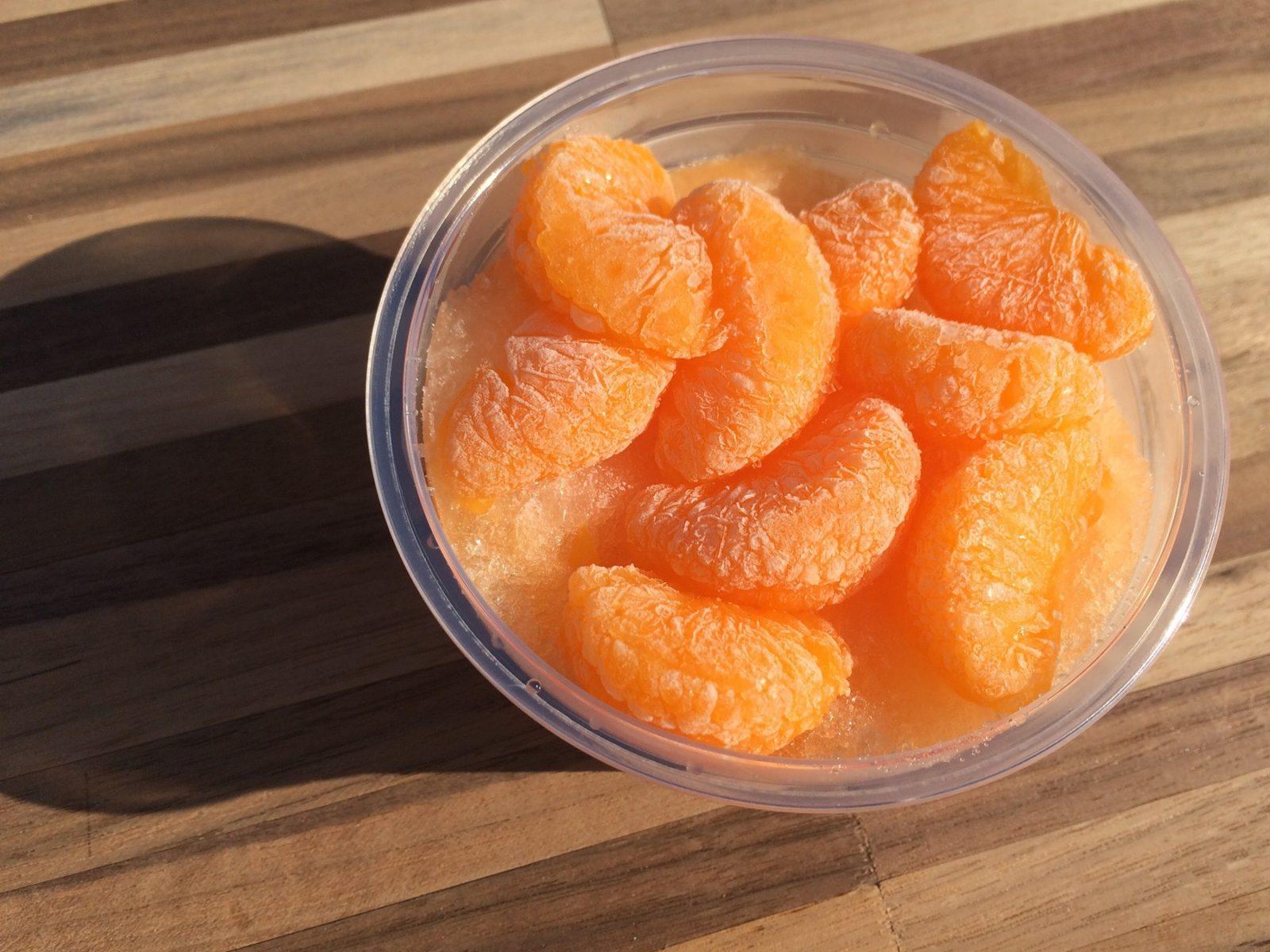 「給食の冷凍みかん」の味ってはっきり覚えてますか?かき氷 ...