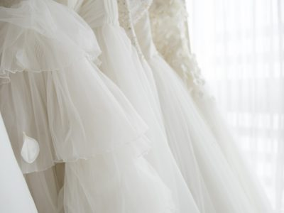 A lot of wedding dress