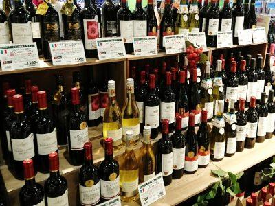 スーパーのワイン コメント 首かけ