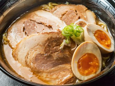 miso roasted pork fillet ramen Japan