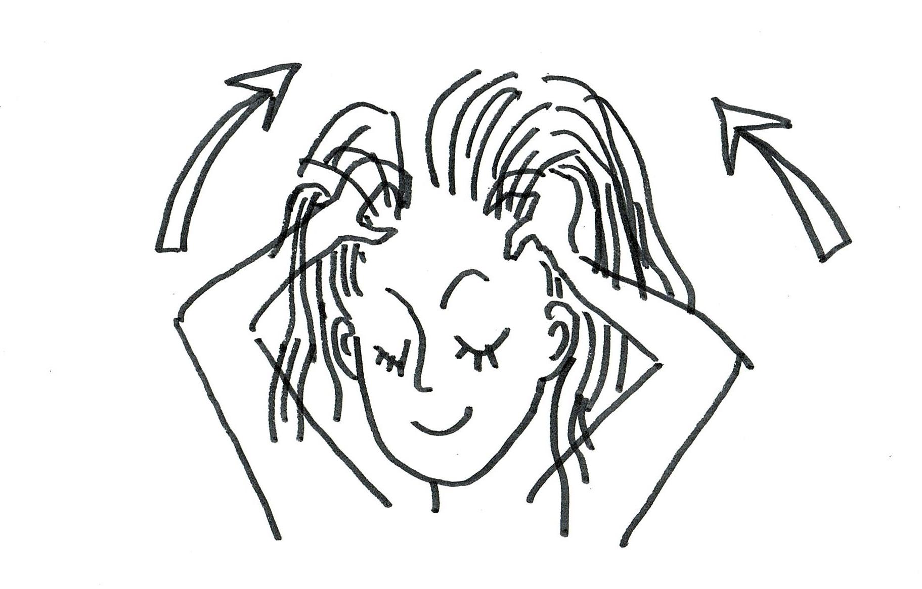 私の髪をすばやく成長させる方法
